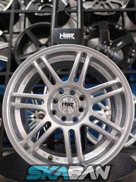 Jual Velg Racing HSR WHEEL Ring 17x7,5 H8(100/114,3) Bisa Kredit