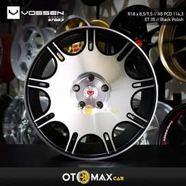 Velg Mobil Vossen (97883) Ring 18 Black Polish