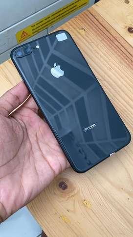 Iphone 8 Plus 64Gb ready grey dan Red