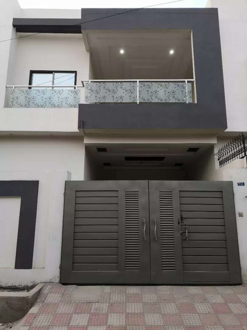 Newly constructed double story beautiful house 0