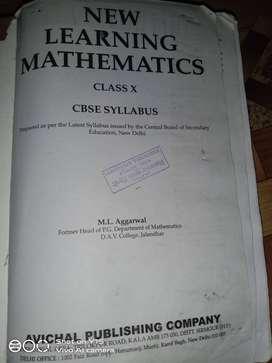 Math book class 10