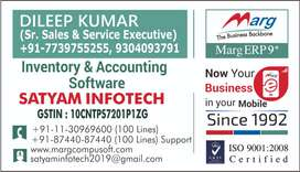 Telecaller for Marg Erp Software, Accounting & inventory Software