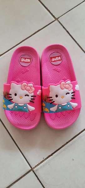 Sandal Anak Perempuan Hello Kitty / Sliper Anak
