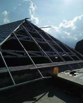servis pelaksanaan atap baja ringan ANTI BOCOR