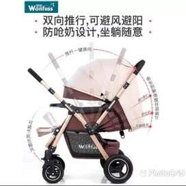 WONFUSS STROLLER BABY ORIGINAL/KERETA DORONG BAYI IMPORT DESIGN EROPA