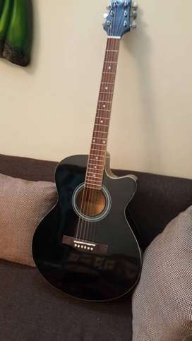 KAPS Acoustic Guitar with Tuner rarely used