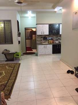 Lease Brand New 3rd floor With RooF 3 bed DD in Nazimabad No 2
