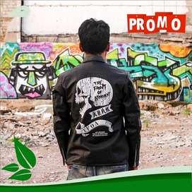 T.F.O.A Leather Biker Jaket