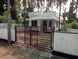 Villa 750SqFt/ 2 bhk/ 4.5 cent/ 27 lakh/ MundurThrissur27000