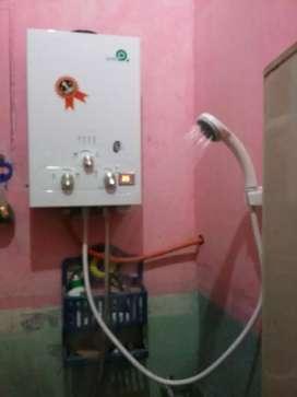 Water Heater Gas (Mandi Air Hangatku)