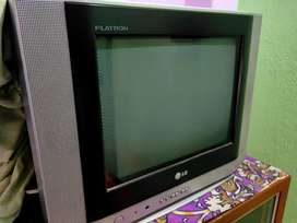 LG TV with DishTV SetTop Box And Dish