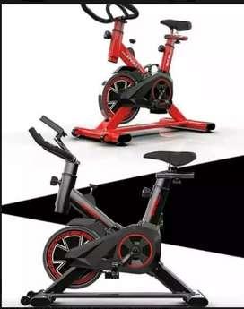 Alat fitnes sepeda statis spinning bike transformer