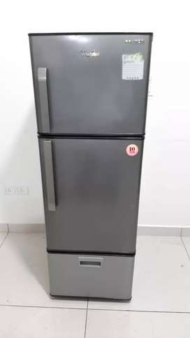 Whirlpool proton 280 liter double door refrigerator with free shipping