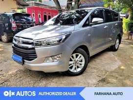 [OLX Autos] Toyota Kijang Innova V 2017 Bensin A/T Silver #Farhana