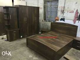 39. New wallnut Finish Bedroom set with free delivery & installation