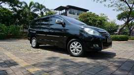 Toyota Innova G Luxury AT 2010, Hitam service record