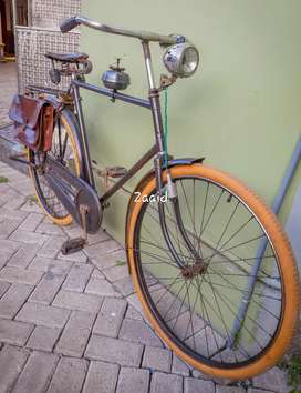 BURGERS HOLLAND 24/60 ORI sepeda ontel onthel kuno tua antik original