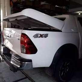 Tutup Bak Mobil Navara Model Fulbox.