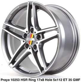 Velg Mobil Praya Ring 17 Jetta, Passat, Scirocco, Tiguan Cicilan 0%