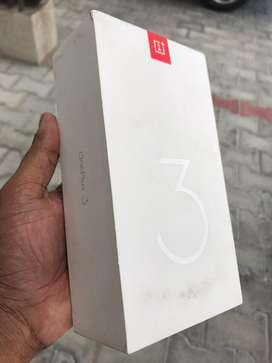 One plus 3 64gb graphite color