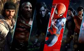 ps4 ps3 - ps2 any model games having @ one place
