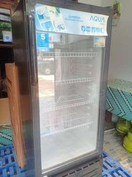 Showcase Aqua AQB-181 4 Rak Kulkas Display Minuman