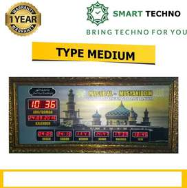 Penawaran Terbaik Jam Digital Masjid Tipe Medium *Dza