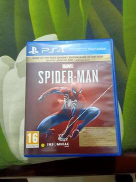 Spider Man Game of the year edition ps4