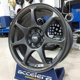 Velg Racing R16x7 Pcd 4x100 & 4x114,3 ET42 Vios Mobilio Jazz Toyotab