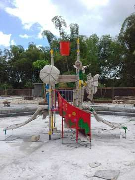 Jual satu set playground waterboom, playground watrpark, wahana air