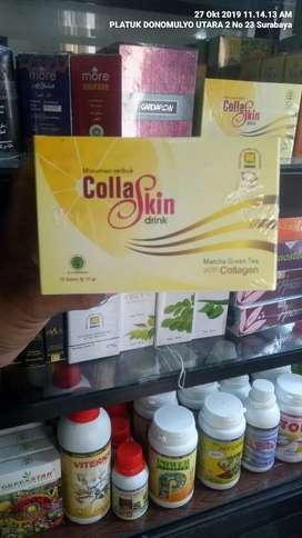 Collaskin Drink Matcha Produk Original NASA Herbal