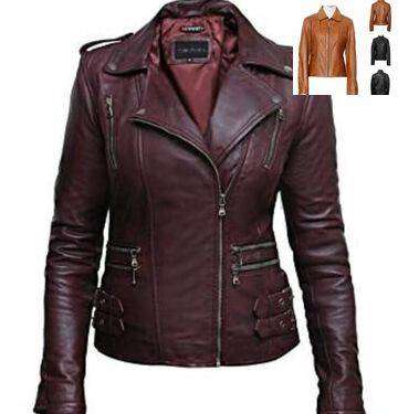 Men and women Leather jacket manufacture kids boy girl young style 0