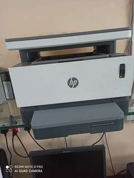 HP neverstop laser MFP 1200a fully condition 1 year used with scanning