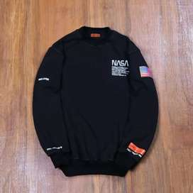 CREWNECK NASA HERON PRESTON