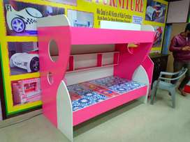Baby bed new in Pink  double