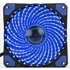 FAN Case Komputer PC 12cm Casing Gaming LED Warna Biru (Blue) Terbaru