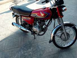 CG 125 best condition, pack engine