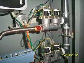 pizza oven solenoid gass valve and glass southstar