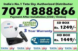 Gandhinagar Tata Sky DTH Distributor-Best Tatasky D2h Dish TV Seller-C
