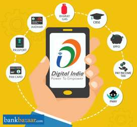 EPF, AADHAR, PAN AND VOTER ONLINE SERVICES
