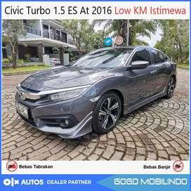 Civic Turbo 1.5 ES Sedan 2016 antik orisinil