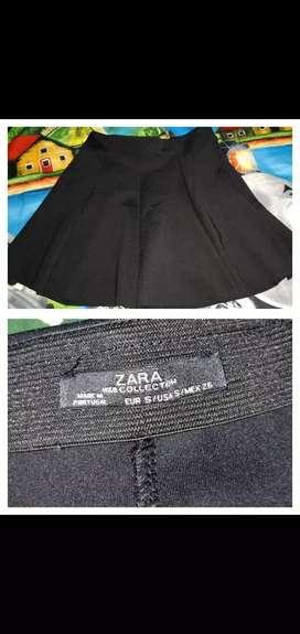 Rok Zara size S (1kali pakai) kondisi 95%