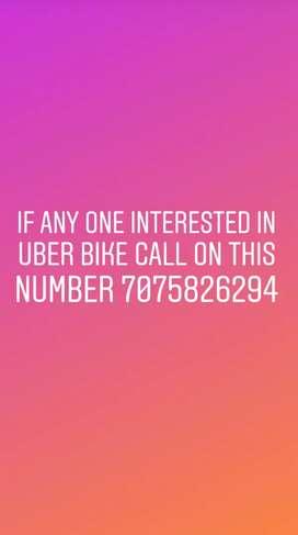 Uber bike daily earnings 1600