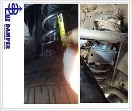 DIJAMIN,, mobil tidak akan alami Body Roll setelah dipasang Damper ini