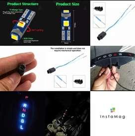 LED lampu persneling brio mobilio calya sigra metic