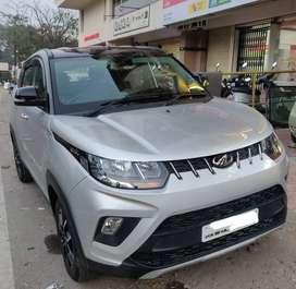 Mahindra Kuv 100 D75 K8 DUAL TONE, 2018, Petrol
