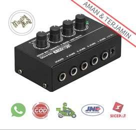 LEORY MX400 Professional Ultra-compact Karaoke Mixer Amplifier