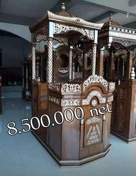 mimbar masjid jati furniture interior tf56.