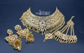 Gold plated bridal jewellery