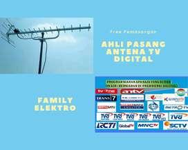 Instalasi terdekat pasang servis antena tv uhf ngamprah